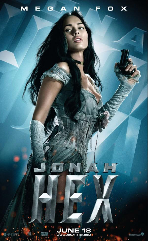 New Jonah Hex Character Posters - 121.9KB