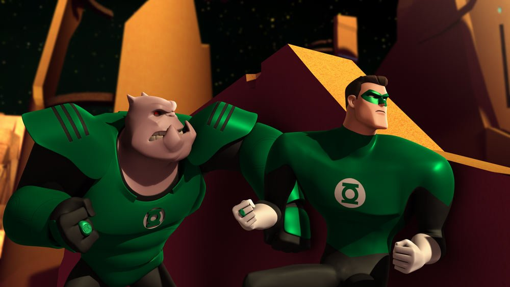 new images and from green lantern the animated series superherohype
