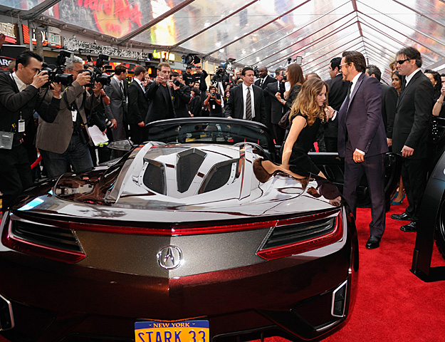 Check Out The Photos Below Of All Three Acura Vehicles In Action On The Red  Carpet (click On Them For Bigger Versions) And Visit SHIELDOps.com To ...