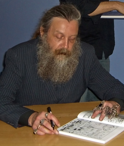 New Short Film Series by Alan Moore Announced