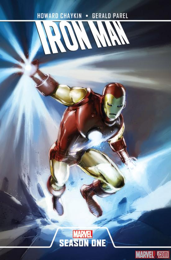 NYCC: Marvel Announces Season One Graphic Novels for Iron Man ...