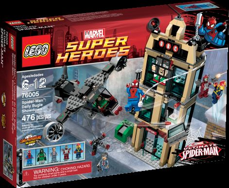 LEGO Reveals Dark Knight Rises & Ultimate Spider-Man sets ...