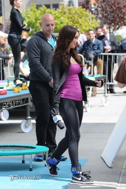 New TMNT Set Photos Reveal Megan Fox on a Trampoline and ...
