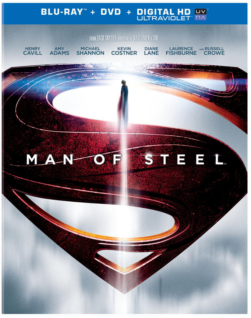 Man of steel flying onto blu ray and dvd on november 12 click the cover art for bigger versions malvernweather Images