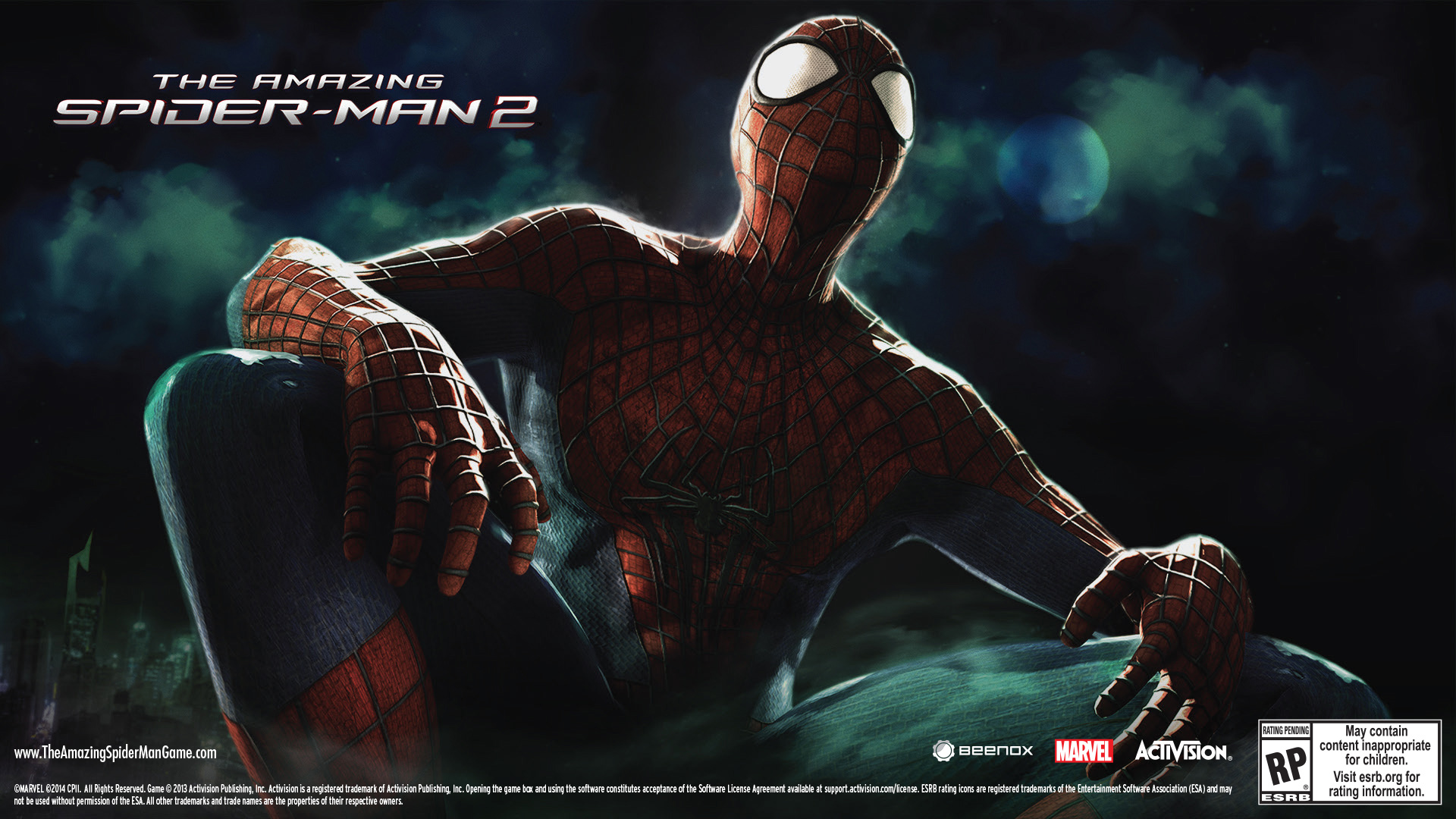 activision and marvel announce the amazing spider man 2. Black Bedroom Furniture Sets. Home Design Ideas