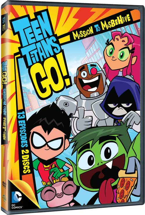 Teen Titans Series Dvd