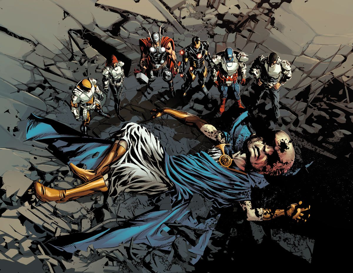 Click on the images to see a  Uatu Dead