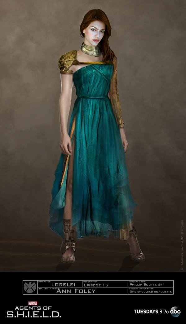 Concept Art for Lorelei in Marvel's Agents of S.H.I.E.L.D ...