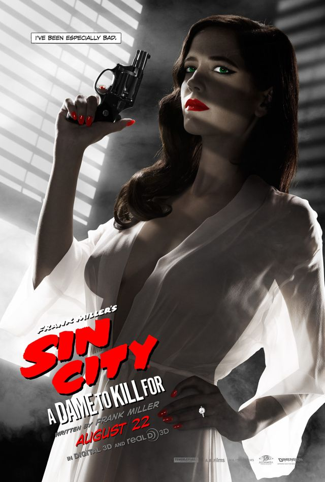 Eva Green Responds to Banned Frank Miller?s Sin City: A Dame to Kill For Poster