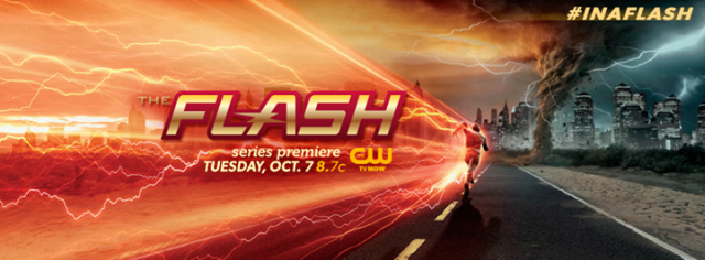 New Promo Image for The Flash Shows Off the Scarlet Speedster!