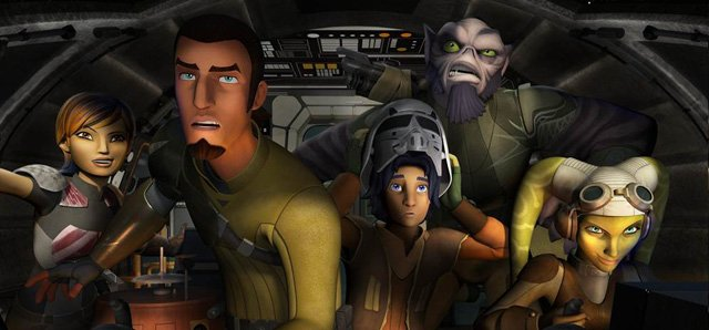 Star Wars Rebels Gets Renewed for a Second Season!