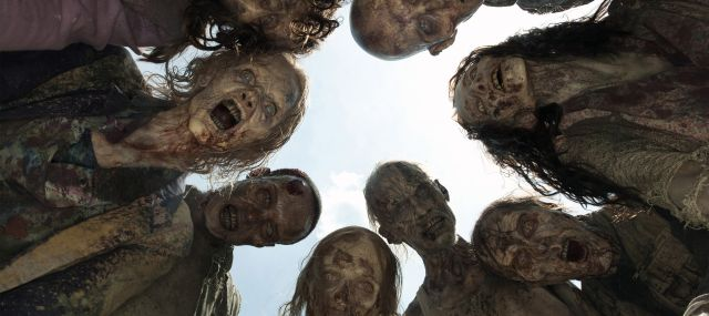 Afbeeldingsresultaat voor the walking dead serie header