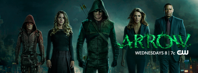 Promo Photos for Episode 3.21 of Arrow, Al Sah-him