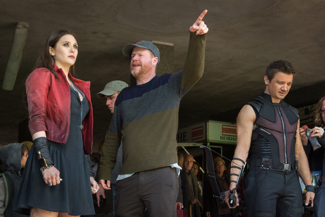 joss whedon avengers age of ultron set visit