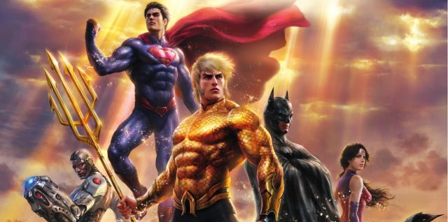 Check Out the First Clip from Justice League: Throne of Atlantis