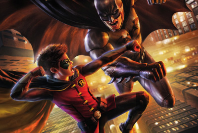 More details and cover at released for Batman vs. Robin.