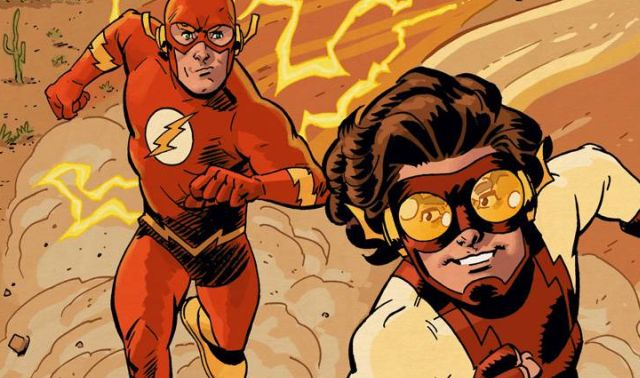 flash and kid flash