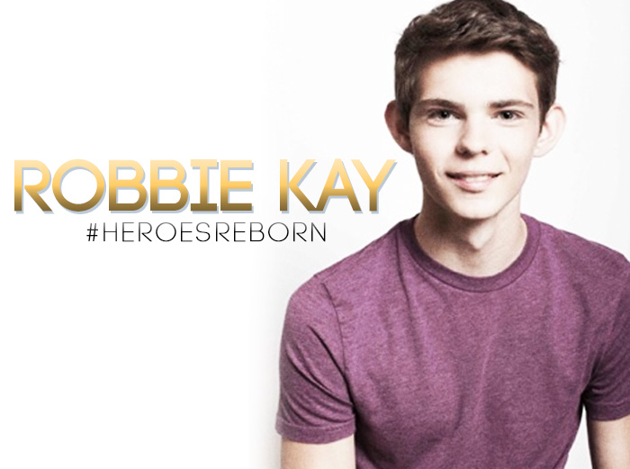 Robbie Kay Joins the Cast of NBC's Heroes Reborn