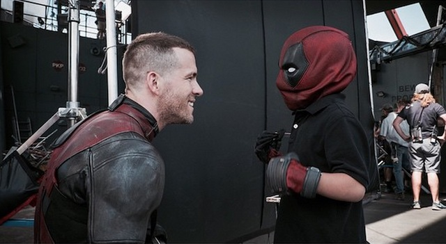 Young Tony Acevedo, battling Hodgkin's Disease, received a special Make-A-Wish visit to the Deadpool setl! Check out the photos shared by Ryan Reynolds