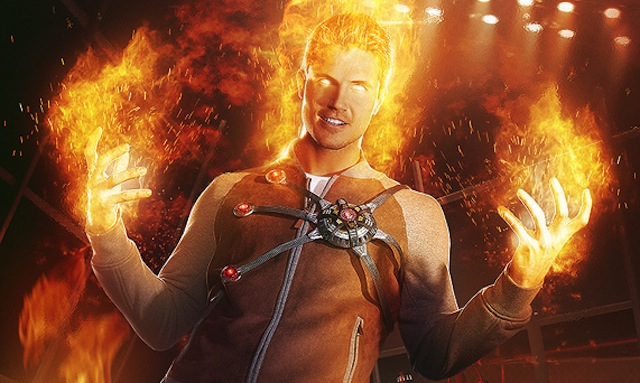 """The CW has released two new """"cage match"""" character designs. Check out the new Ra's al Ghul and Firestorm posters!"""
