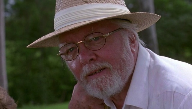 A new Jurassic World spot features narration by Jurassic Park's John Hammond, played by the late Sir Richard Attenborough.