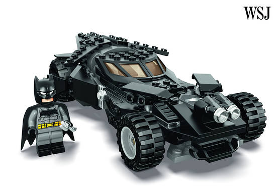 LEGO Batmobile from Batman v Superman: Dawn of Justice Revealed
