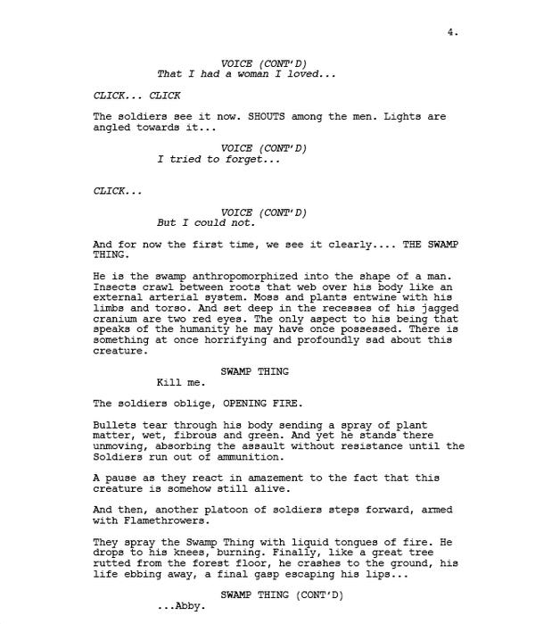 comic book script template