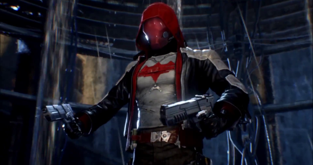 A promo debuted online for the Batman: Arkham Knight Red Hood story pack, which showed some snippets of the DLC's lethal gameplay.