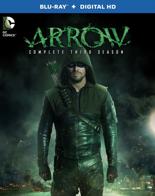 The Flash Season 1 and Arrow Season 3 Hit Blu-ray in September