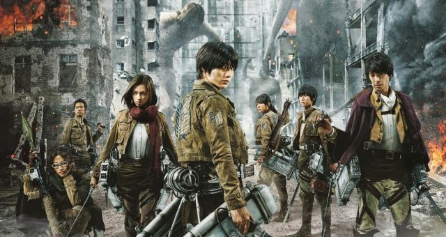 Tickets for Live Action Attack on Titan Movies on Sale
