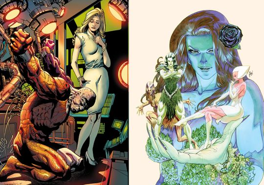 DC Comics Reveal 8 New Series Including Swamp Thing, Firestorm, and More!