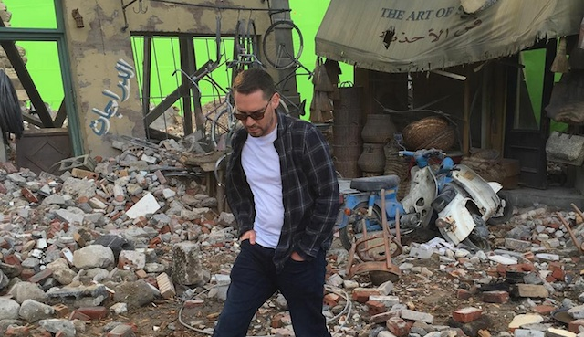 Take a behind the scenes look at the X-Men: Apocalypse Cairo set, posted by director Bryan Singer to his Instagram feed. Is this where we'll meet Storm?