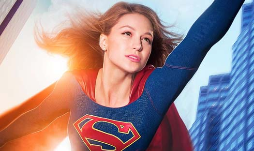 A new Supergirl poster offers a great look at Melissa Benoist as DC Comics' Maid of Might! Catch the new series on CBS starting Monday nights this October.