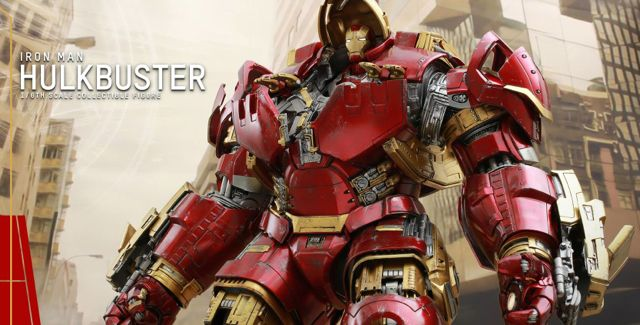 Hot Toys Offers Updated Images and Details for Hulkbuster Figure.