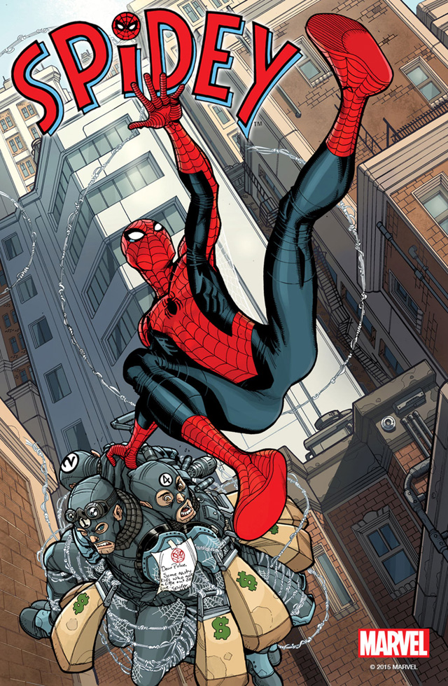 Marvel Announces New Spidey Comic Book.