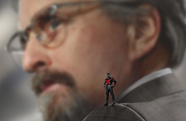 Things get weird in a new Ant-Man spot featuring stars Paul Rudd and Michael Douglas. Catch Marvel's Ant-Man in theaters now!
