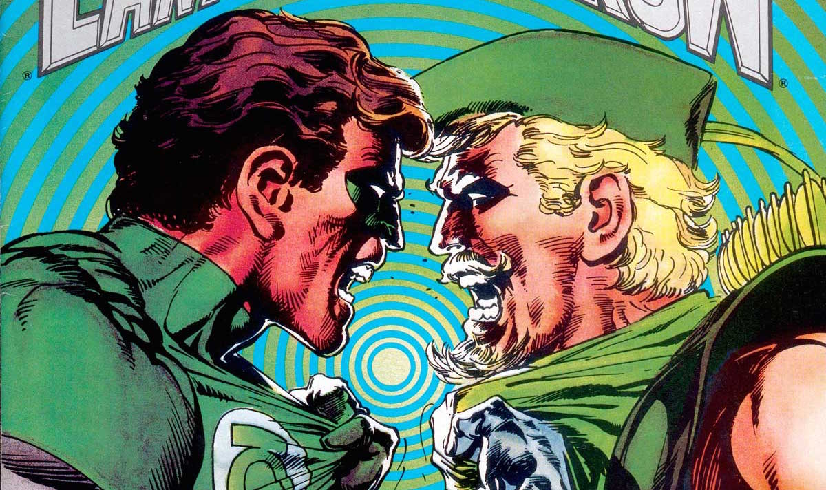 New art shared by series creator Marc Guggenheim suggests that a Green Lantern Arrow appearance may be on the way in the fourth season of the CW series.