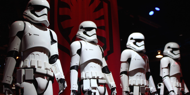 Take a look at the Star Wars: The Force Awakens costumes on display at this year's D23 Expo in Anaheim including a detailed look at Captain Phasma!