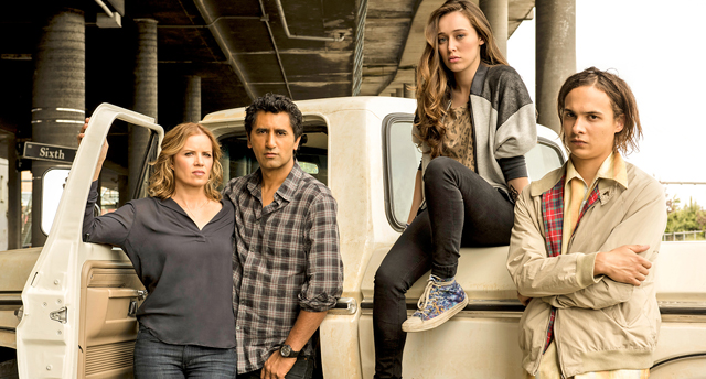 A new behind the scenes video introduces the Fear the Walking Dead characters. Catch The Walking Dead spinoff's premiere this Sunday, August 23 on AMC.