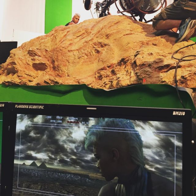 Storm Watches Over Cairo in a New Photo from the X-Men Set.