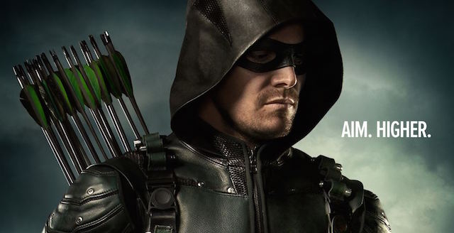 It's now officially Green Arrow as a new international TV spot reveals Star City's emerald archer adopting his comic book moniker, adjective and all.