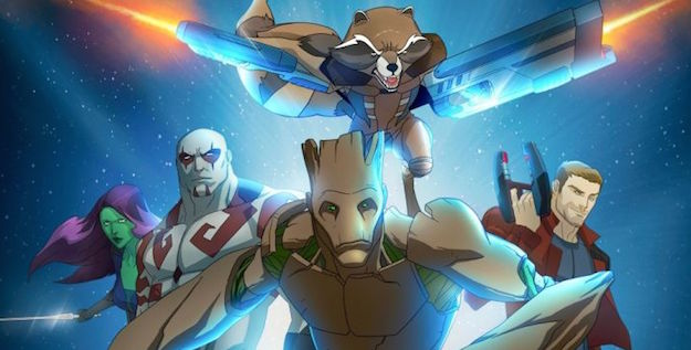 Everything you want to know about the new Guardians of the Galaxy animated series is right here.