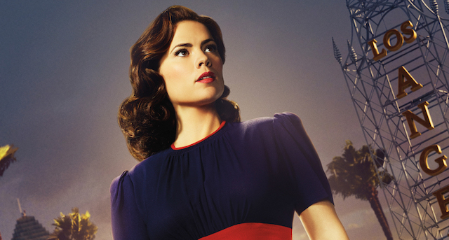 Hayley Atwell's Peggy Carter enters the City of Angeles in a new Agent Carter season two poster design. It will also be given away at New York Comic-Con.