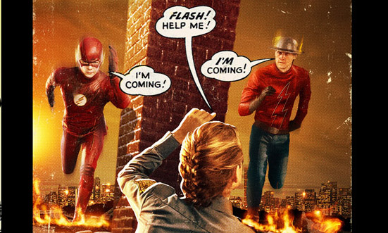 An extended Flash season two trailer has arrived and if offers a look at the upcoming multiverse-spanning second season of the DC Comics series.
