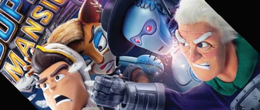 The SuperMansion trailer has arrived.