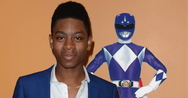 Me and Earl and the Dying Girl star RJ Cyler is set to play the Blue Ranger in Lionsgate's upcoming Power Rangers movie, set for release January 13, 2017.