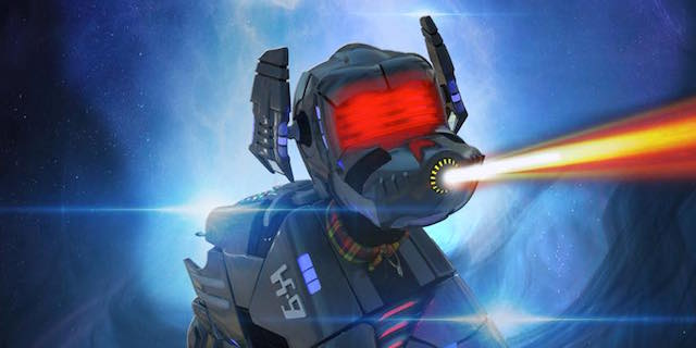 After decades of adventures on the small screen, Doctor Who's robotic dog K9 is headed to the big screen with his own movie! K9 Timequake is on the way!