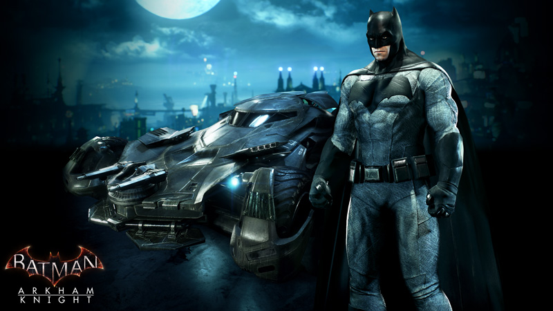 Batman v Superman Batsuit and Batmobile Coming to Arkham ...