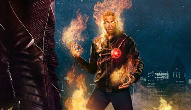 Witness the Fury of Firestorm with a new episode promo, poster & 20 new stills from next week's all-new episode of The CW's hit DC Comics series, The Flash!