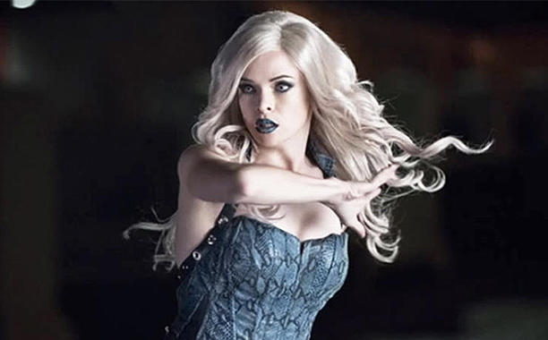 Take a look at The Flash Danielle Panabaker as Killer Frost from an upcoming episode of the hit CW tv series. We'll meet the chilly villainess this season.